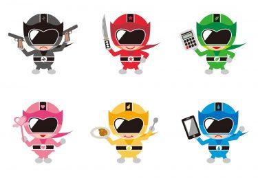 大人も夢中?!戦隊ヒーローや仮面ライダー持つヒーローの魅力とは?